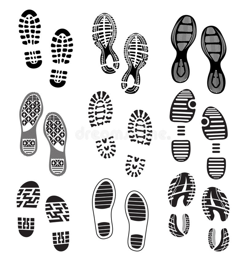 Free Imprint Soles Shoes Stock Photos - 37376253