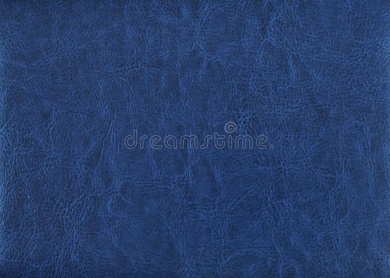 Imprinted cover of the daily log. Blue imprinted cover of the daily log stock image