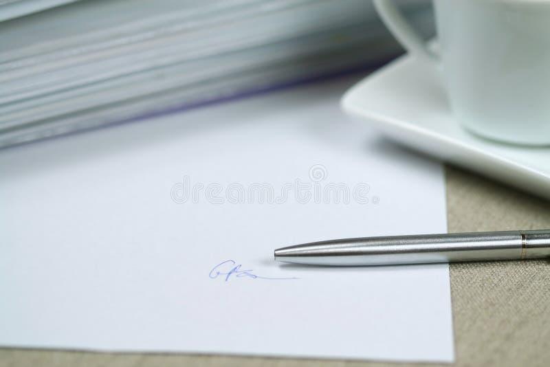 Impronta fotografia stock