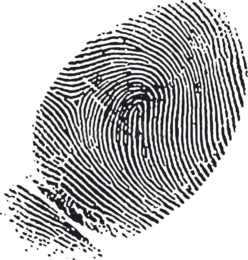 Impronta digitale (7) royalty illustrazione gratis