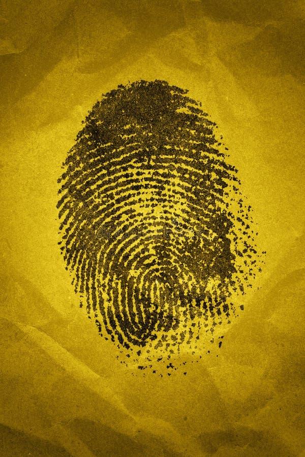 Impronta digitale immagine stock libera da diritti