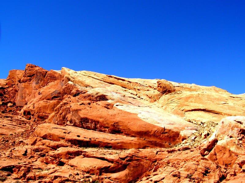 Impronta digitale del deserto fotografia stock