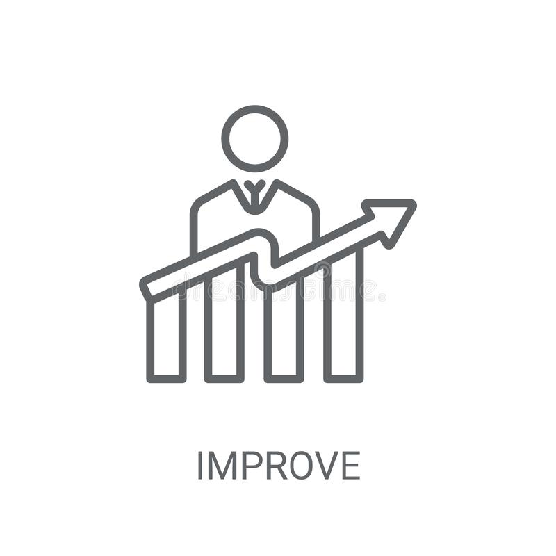 Free Improve Icon. Trendy Improve Logo Concept On White Background Fr Royalty Free Stock Photos - 133527648