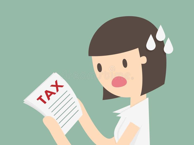impuesto stock de ilustración