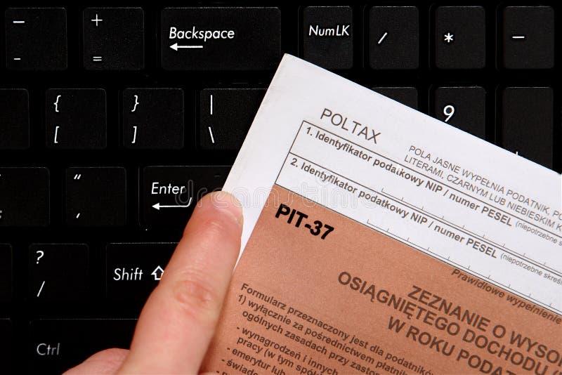 Impuesto anual, HUECO fotos de archivo libres de regalías