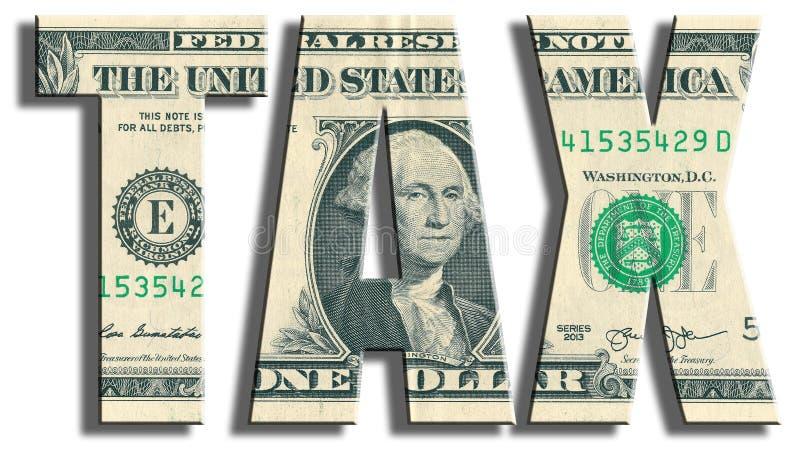 impuesto Textura del dólar de EE. UU. fotografía de archivo