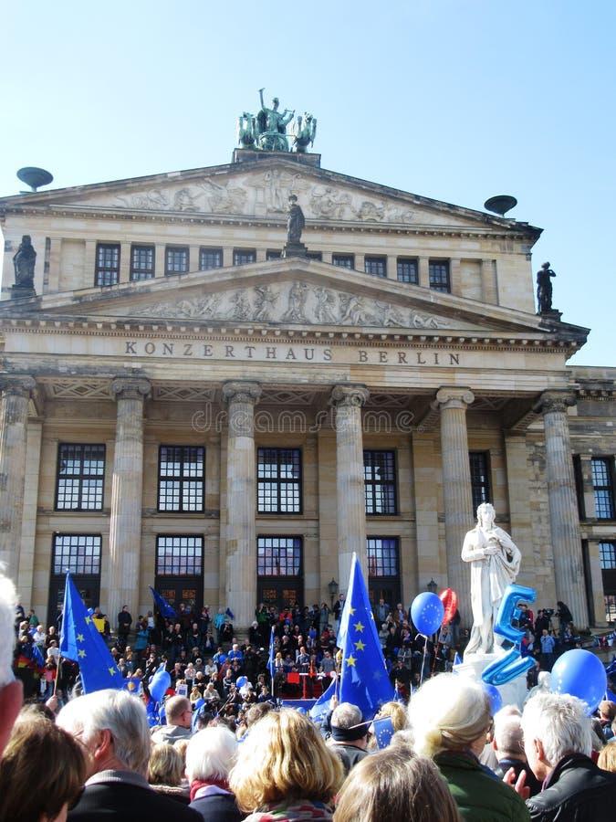 Impuls van Europa Berlijn stock foto