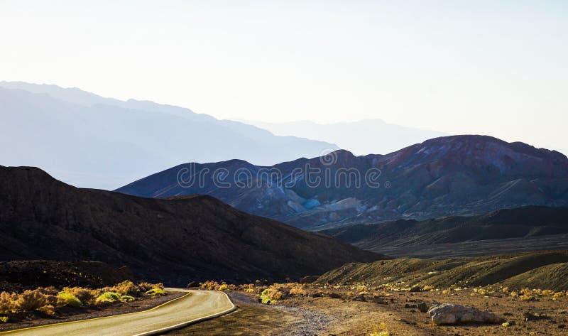 Impulsi?n del ` s del artista en Death Valley fotografía de archivo