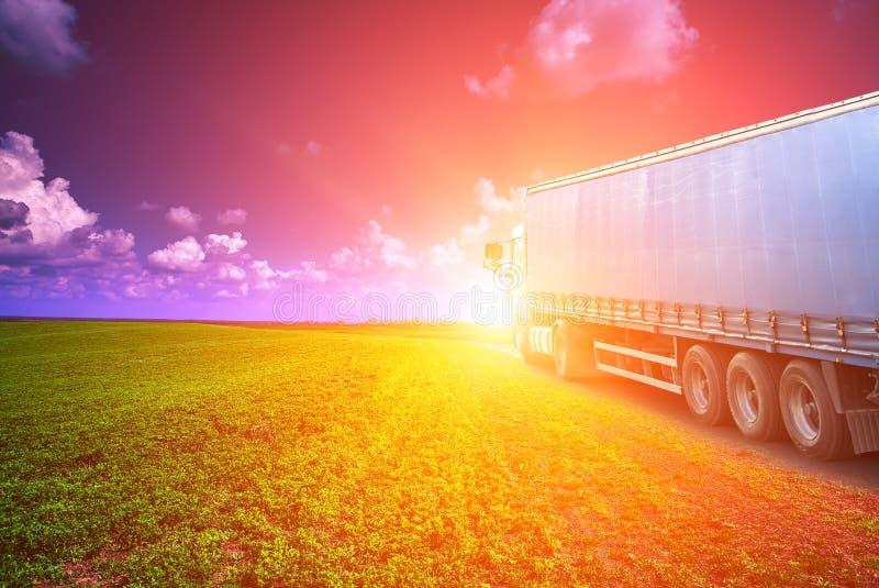 Impulsiones del camión fotos de archivo