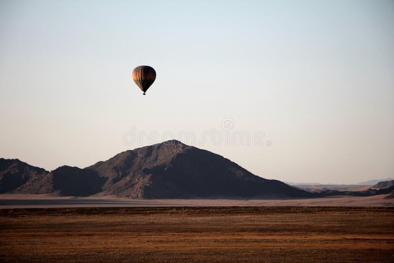 Impulso de las dunas de arena de Namibia imagen de archivo libre de regalías