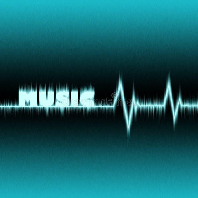 Impulso di musica illustrazione vettoriale