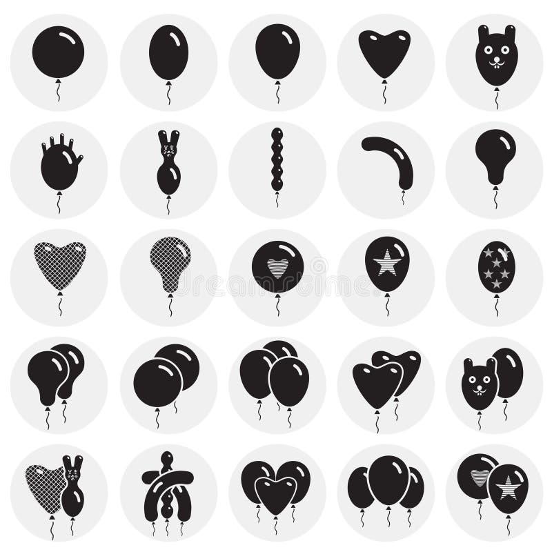 Impulspictogrammen die op cirkelsachtergrond worden geplaatst voor grafisch en Webontwerp Eenvoudig vectorteken Internet-concepte vector illustratie