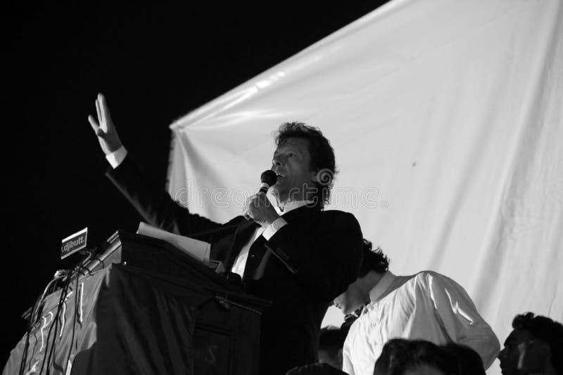 Imran Khan royalty free stock photos