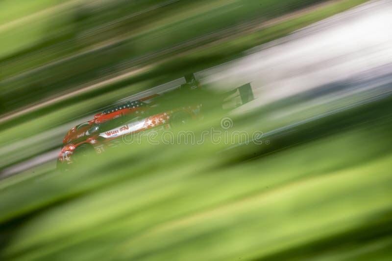 IMSA : Étalage continental d'épreuve sur route de pneu du 4 août photographie stock