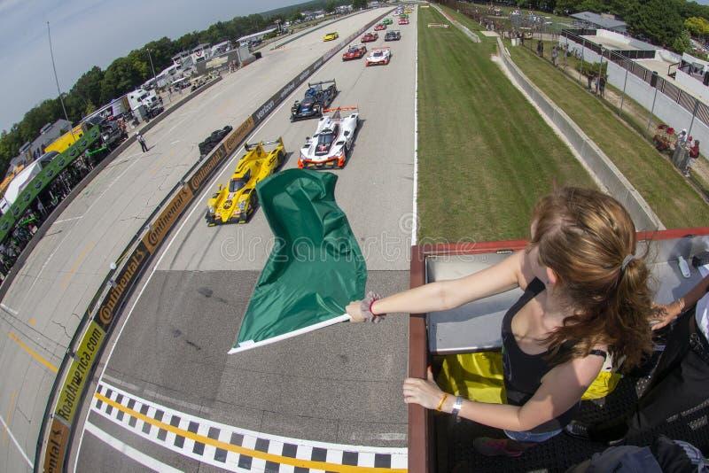 IMSA : Étalage continental d'épreuve sur route de pneu du 5 août photo libre de droits
