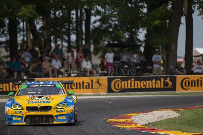 IMSA : Étalage continental d'épreuve sur route de pneu du 5 août image stock