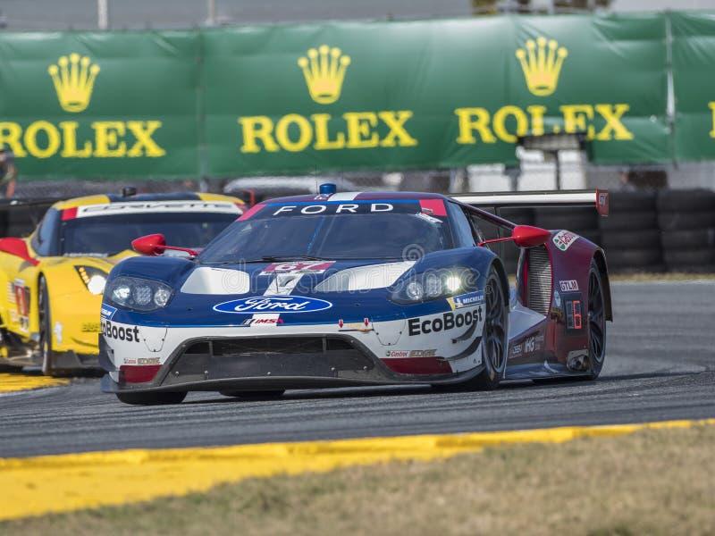 IMSA: 25 januari Rolex 24 Uren in Daytona stock fotografie