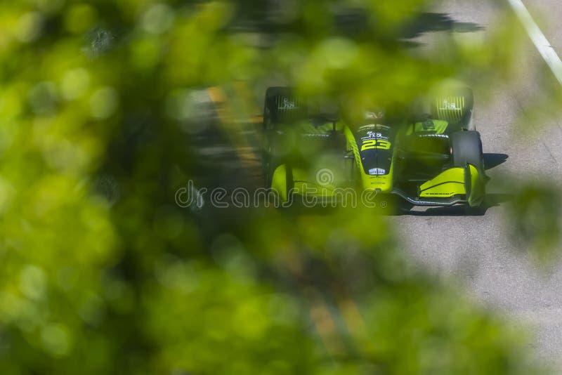 IMSA: Am 8. März Firestone Grand Prix von St Petersburg stockfotografie
