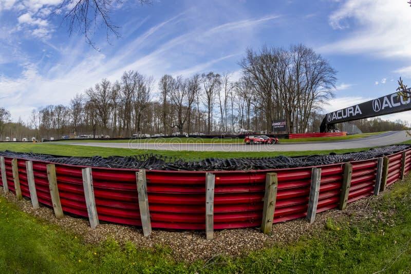 IMSA: Sfida dell'automobile sportiva di Acura del 5 maggio fotografia stock