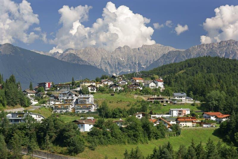 Imst dans le Tirol photos libres de droits