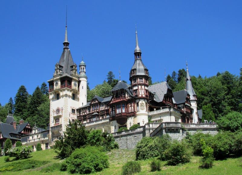 InSinaia,Â Roumanie de palaisde Pelisor image libre de droits