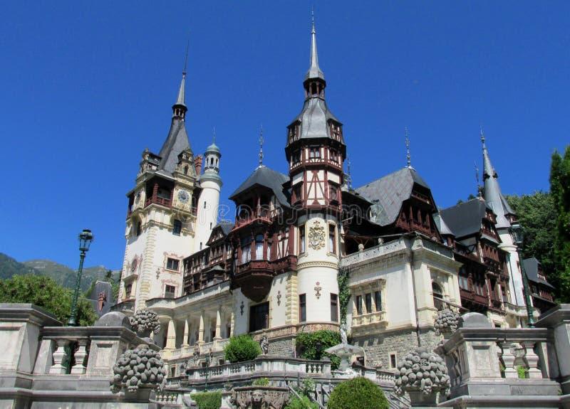 InSinaia do paláciode Pelisor, Romênia fotos de stock royalty free