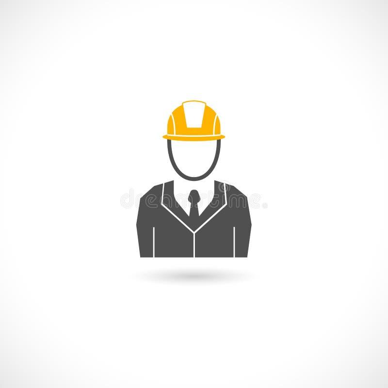 Inżynier ikona ilustracja wektor