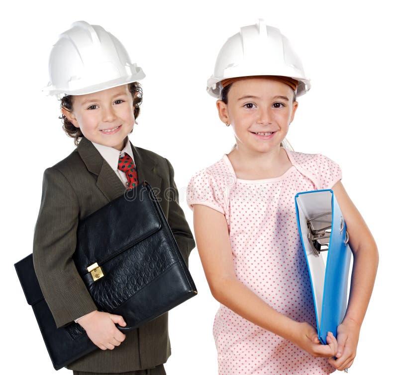 inżynier przyszłość 2 obraz royalty free