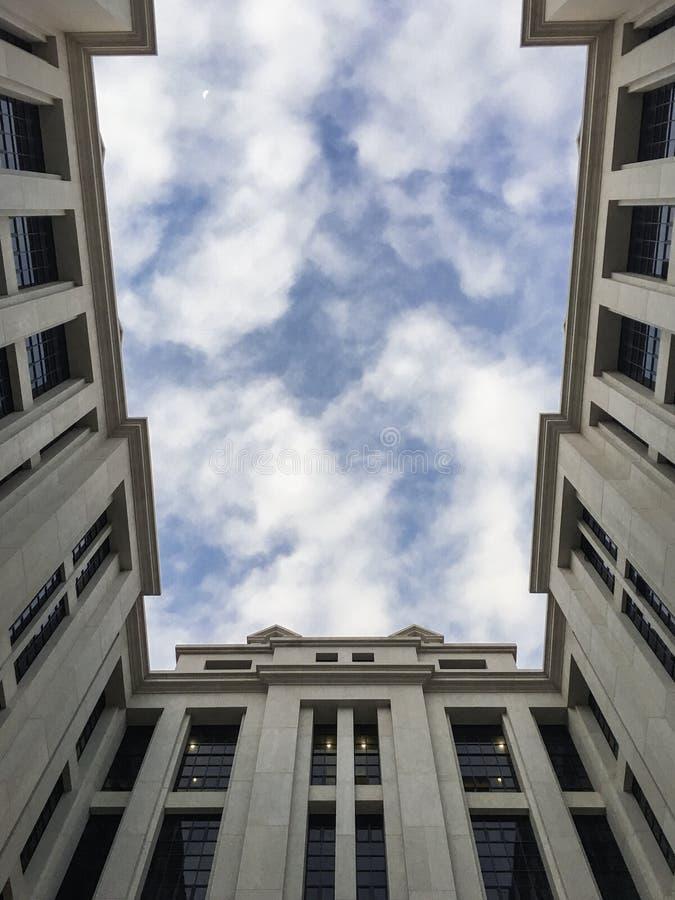 Inżyniera fakultetu budynek przy wniebowzięcie uniwersytetem obrazy stock