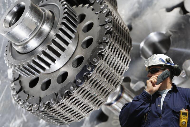 Inżynieria i maszyneria obrazy stock