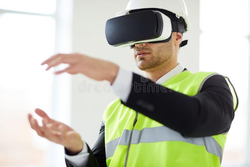 In?ynieria w VR zdjęcia royalty free