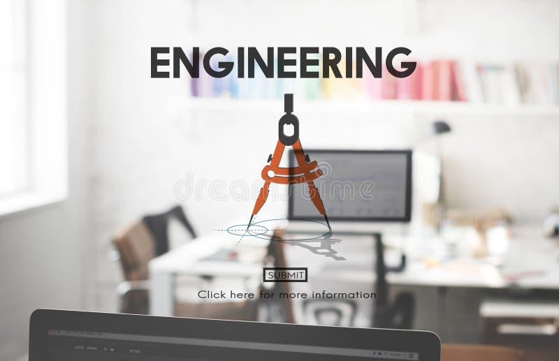 Inżynierii zajęcia Fachowej wiedzy specjalistycznej Kreatywnie pojęcie obraz royalty free