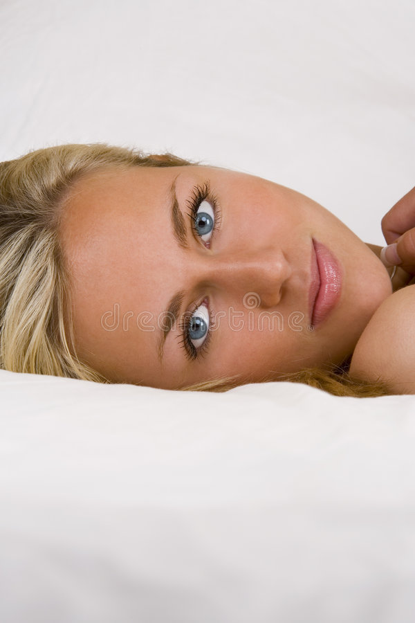 Free In Bed With Beauty Stock Photography - 2427602