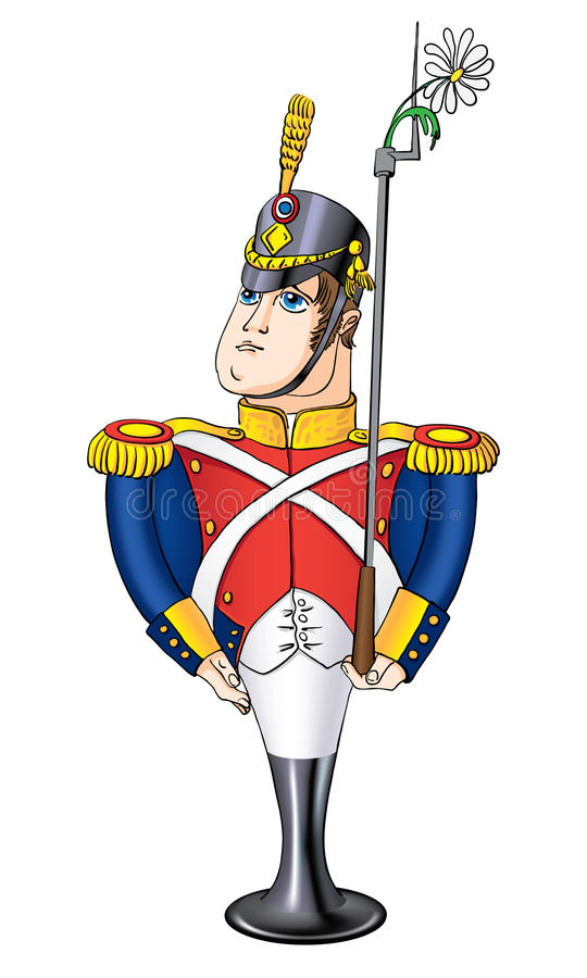Free In Love The Steadfast Tin Soldier Stock Photography - 24495992