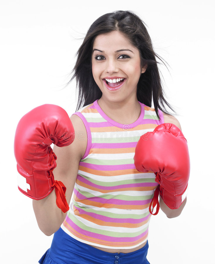 Download Inadina female boxer stock photo. Image of attractive - 7318680