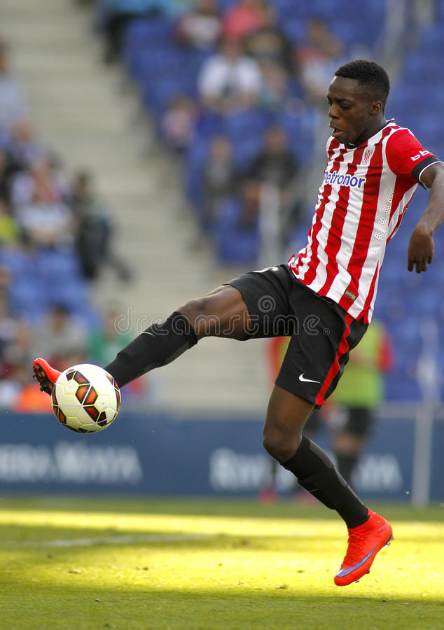 Inaki Williams Dannis del club atletico Bilbao immagini stock
