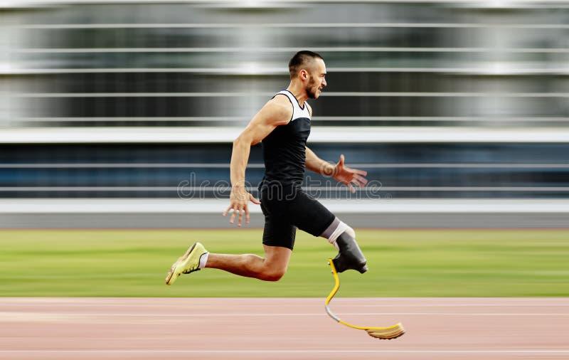 Inaktiverat idrottsledarben royaltyfri bild
