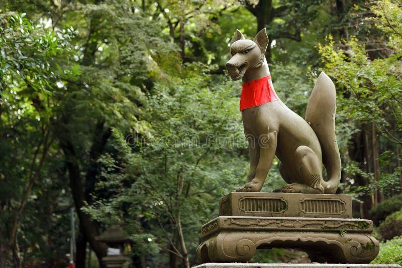 Inari Fox statue