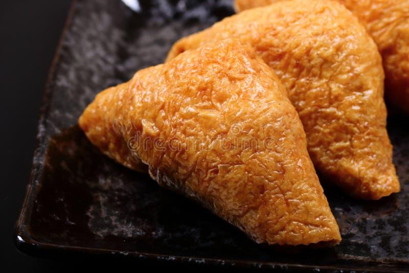 Inari-Sushi - japanische Sushi lizenzfreie stockfotografie