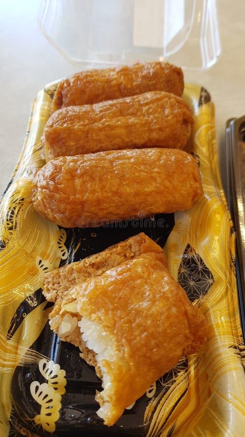 Inari-Sushi lizenzfreie stockfotografie