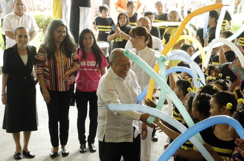 Inauguración de segundo Festival Nacional de Teatro Infantil stock photos
