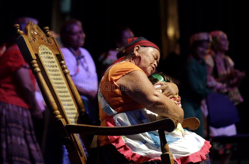 Inauguración de segundo Festival Nacional de Teatro Infantil stock image