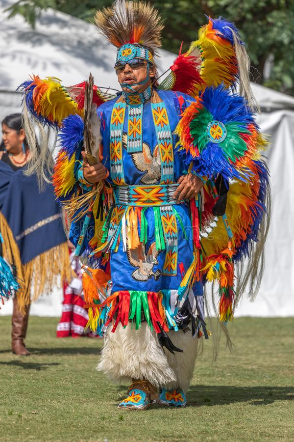 Inaugural Indigenous People`s Day Celebration 2018 royalty free stock image