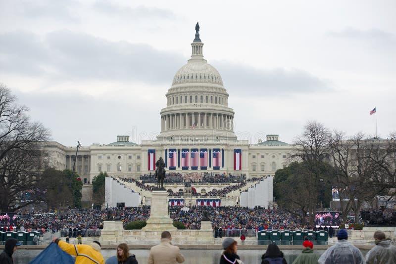 Inaugurazione presidenziale di Donald Trump immagini stock