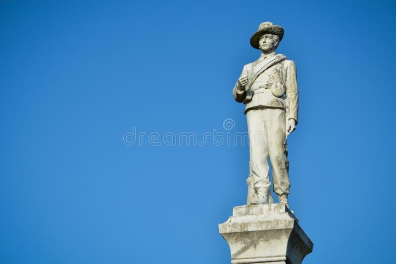 Inbördeskrigstaty sjö Eola royaltyfria bilder