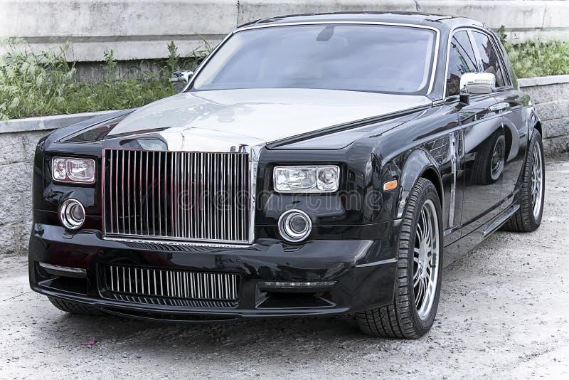 inbillade Rolls Royce royaltyfri bild