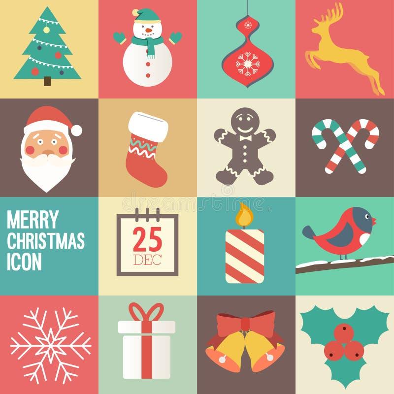 Inbjudan för julparti royaltyfri illustrationer