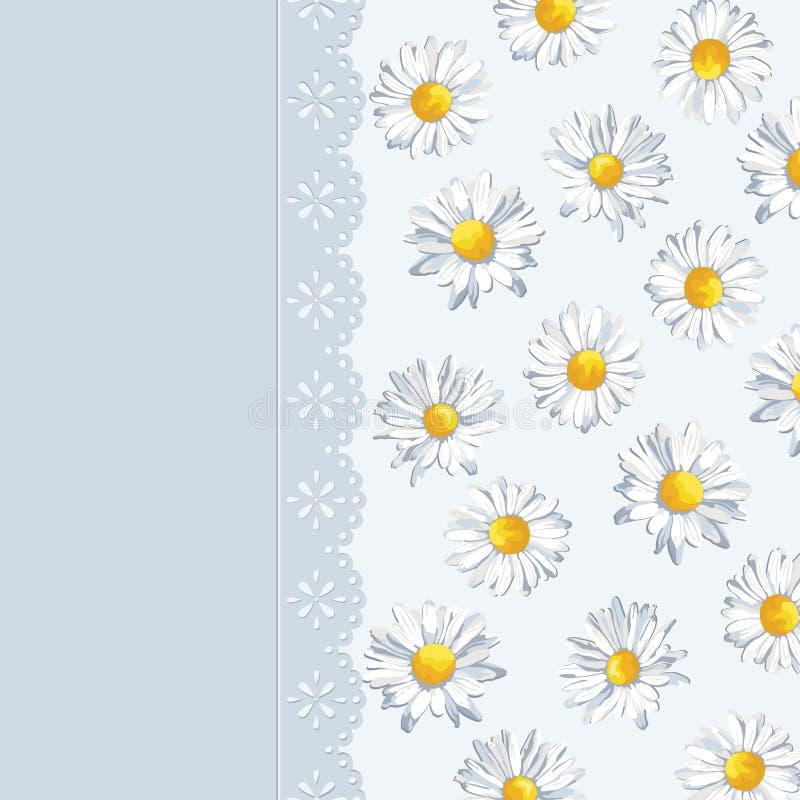 Inbjudankort med sommarbakgrund greeting lyckligt nytt år för 2007 kort Gullig patt royaltyfri illustrationer
