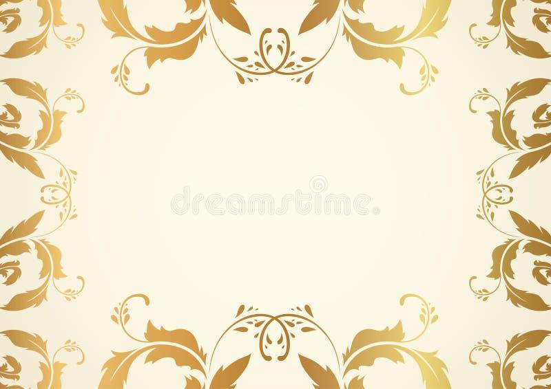 inbjudanmall royaltyfri illustrationer