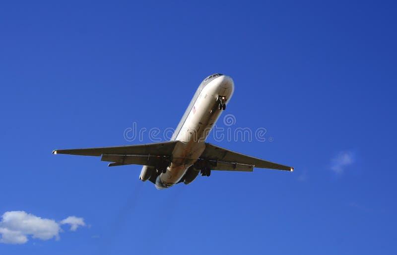 inbound morgon för flyg royaltyfria foton